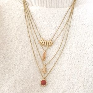 Lucky Brand layered necklace